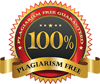 100% Plagiarism Free Guaranteed